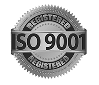 Committed to quality represented by registered ISO 9001 certification